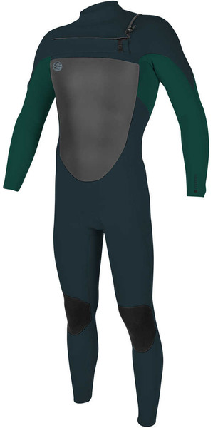 2018 O'Neill O'riginal 3/2mm Chest Zip Wetsuit SLATE / REEF 5011