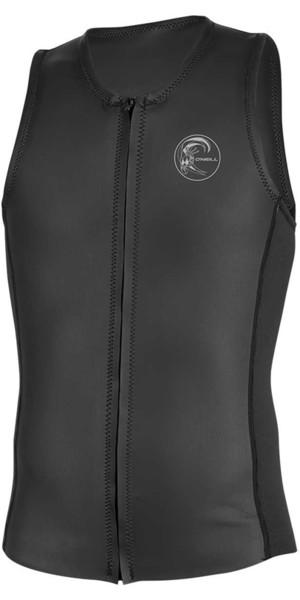 2019 O'Neill O'riginal Front Zip Neoprene Vest BLACK 5079