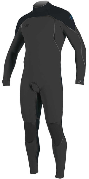 2018 O'Neill Psycho One 3/2mm Back Zip Wetsuit GRAPH / SLATE 4964