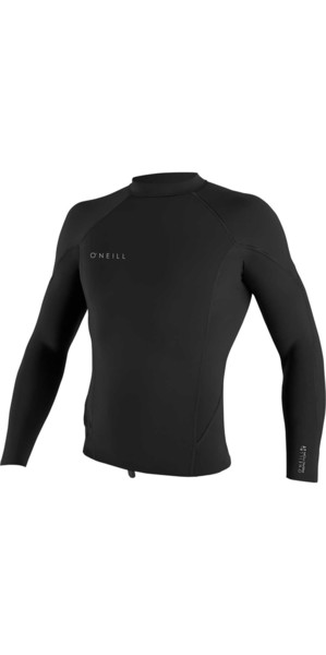 2019 O'Neill Reactor II 1.5mm Neoprene Long Sleeve Top BLACK 5080