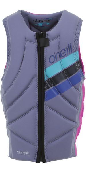 2019 O'Neill Girls Slasher Comp Impact Vest Mist / Berry 4940GEU