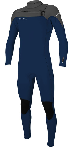 2019 O'Neill Mens Hammer 3/2mm Chest Zip Wetsuit Abyss / Graphite 4926
