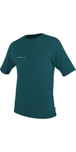 2019 O'Neill Mens Hybrid Short Sleeve Surf Tee Teal 4878