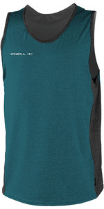 2019 O'Neill Mens Hybrid Tank Top Teal / Black 4877