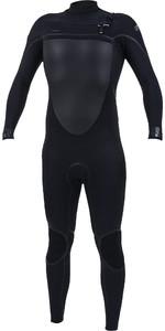 2019 O'Neill Psycho Tech+ 5/4mm Chest Zip Wetsuit Black 5365