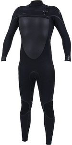 2020 O'Neill Mens Psycho Tech+ 5/4mm Chest Zip Wetsuit 5365 - Black