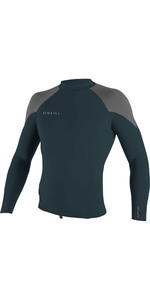2019 O'Neill Youth Reactor II 1.5mm Neoprene Long Sleeve Top Slate / Cool Grey 5084
