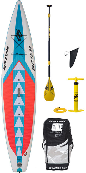 2018 Naish One ALANA SUP Inflatable Stand Up Paddle Board 12'6