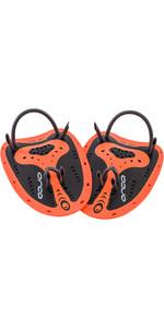 2021 Orca Flexi Swim Paddles High Visibility HVBQ0054 - Orange