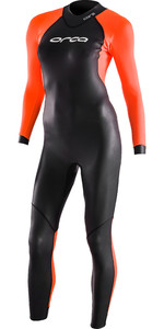 2021 Orca Womens Openwater Core Wetsuit LN674601 - Black / Hi-Vis