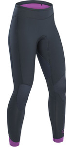 2019 Palm Blaze Womens 3mm GBS Wetsuit Trousers Jet Grey 12233