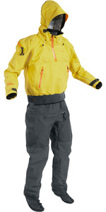 2020 Palm Mens Bora Touring Kayak Drysuit Yellow / Jet Grey 12382
