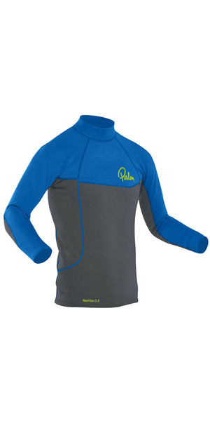 2018 Palm Neo Flex Long Sleeve 0.5mm Thermospan Top Grey / Blue 12183