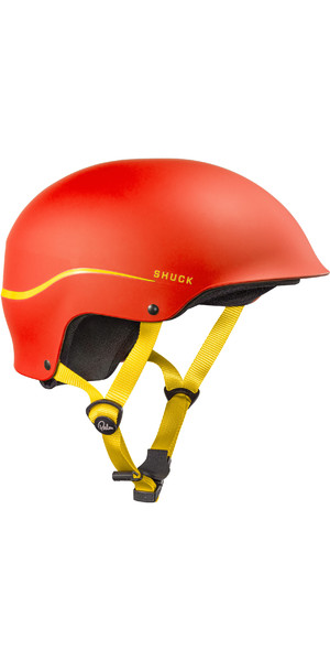 2019 Palm Shuck Half-Cut Helmet Red 12131