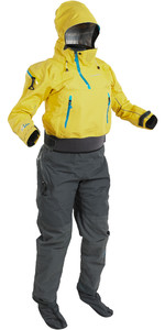 2020 Palm Womens Bora Touring Kayak Drysuit Yellow / Jet Grey 12383