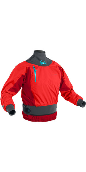 2019 Palm Womens Zenith Whitewater Jacket Flame Red 12390