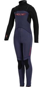 2020 Prolimit Junior Grommet Freezip Wetsuit 18460 - Blue / Red
