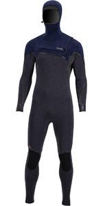 2020 Prolimit Mens Mercury 6/4mm Hooded TR Free-X Zip Wetsuit 14000 - Black /Blue