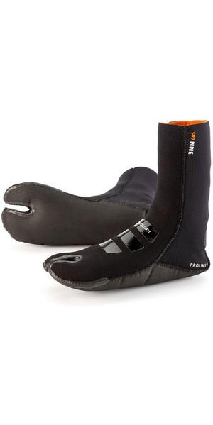 2018 Prolimit 3mm Evo Split Toe Dura Sole GBS Boot Sock Black 70360