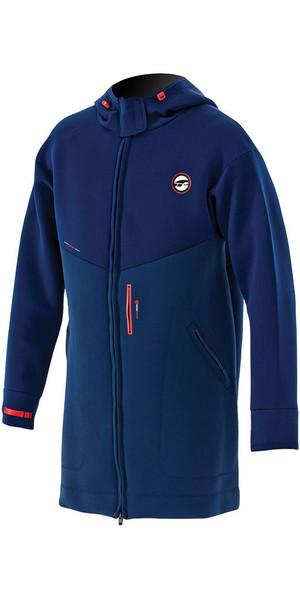 2018 Prolimit Double Lined Racer Jacket in Dark Blue / Orange 05021