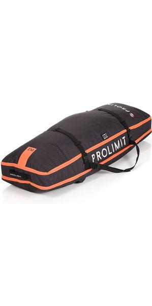 2018 Prolimit Kitesurf Global Twin Tip Board Bag 140x45 Black / Orange 83330