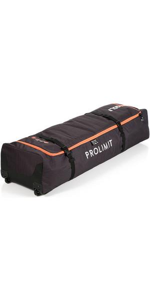 2018 Prolimit Kitesurf Golf Aero Wheeled Board Bag 140 x 45 Black / Orange 83345