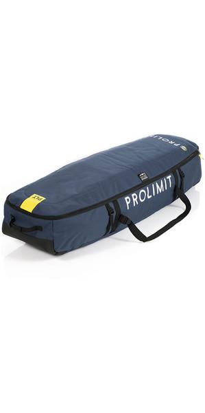 2018 Prolimit Kitesurf Traveller Wheeled Board Bag 140 x 45 Pewter / Yellow 83370