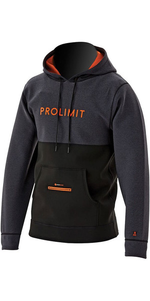 2018 Prolimit Loosefit Neoprene Hoody Black / Orange 05051