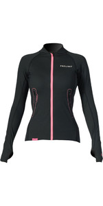 2019 Prolimit Womens Loosefit Quick Dry SUP Top Black / Pink 84700