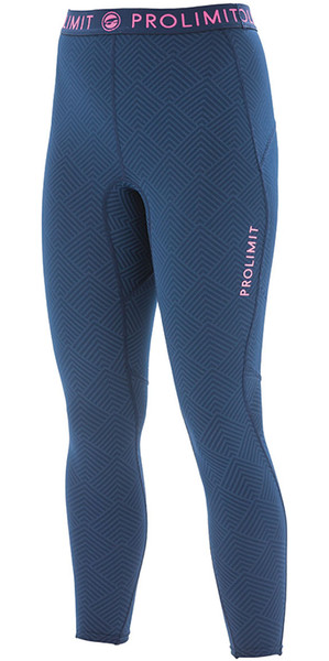 2018 Prolimit Womens SUP Athletic Quick Dry Trousers Blue / Pink 84760