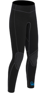 2018 Palm Quantum Womens 3mm Flatlock Wetsuit Trousers Black 12239