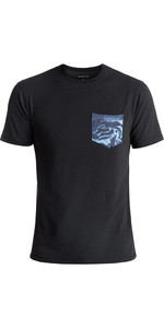 2018 Quiksilver Bubble UV50 Surf Tee BLACK EQYWR03093
