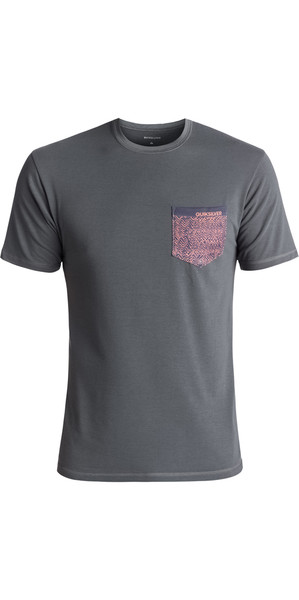 2018 Quiksilver Bubble UV50 Surf Tee GREY EQYWR03093