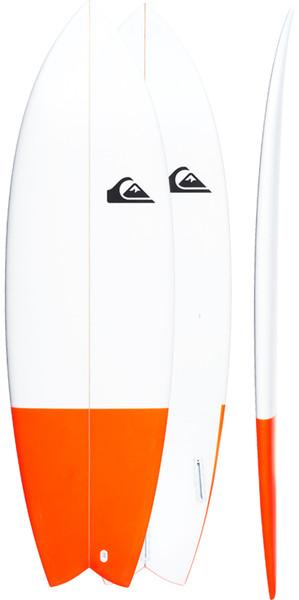 Quiksilver Euroglass Surfboard Batboard 5'10