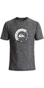 Quiksilver Scrypto Short Sleeve Surf Tee UV50 BLACK EQYWR03086