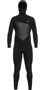 2019 Quiksilver Highline Plus 6/5/4mm Hooded Chest Zip Wetsuit Black EQYW203010