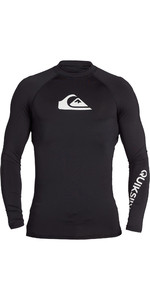 2020 Quiksilver Mens All Time Long Sleeve Rash Vest EQYWR03240 - Black