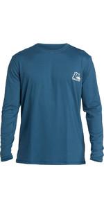 2020 Quiksilver Mens Heritage Long Sleeve Rash Vest EQYWR03249 - Blue