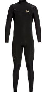 2019 Quiksilver Mens Highline 4/3mm Zipperless Wetsuit Black EQYW103061