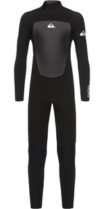 2020 Quiksilver Junior Boys Prologue 4/3mm Back Zip Wetsuit Black EQBW103038