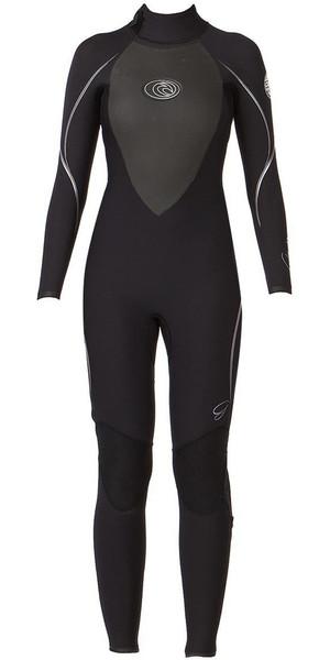 Rip Curl Ladies G Bomb E3 5/3mm Wetsuit BLACK / SILVER WSMOCG