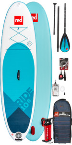 2019 Red Paddle Co Ride 10'8 Inflatable Stand Up Paddle Board - Alloy Package