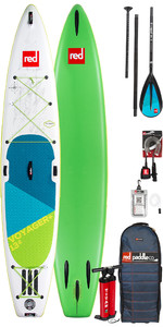 2019 Red Paddle Co Voyager 13'2 Inflatable Stand Up Paddle Board + Bag, Pump, Paddle & Leash
