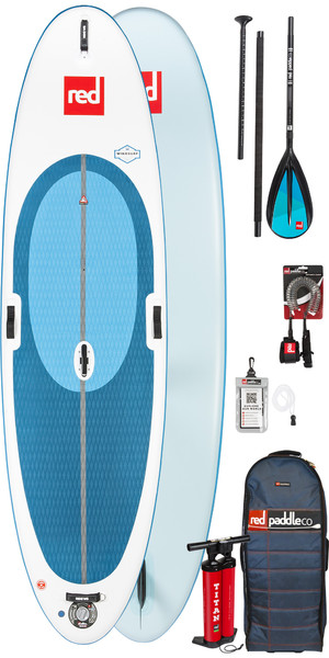 2019 Red Paddle Co WindSurf 10'7 Inflatable Stand Up Paddle Board + Bag, Pump, Paddle & Leash