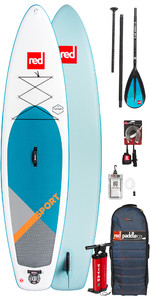 2019 Red Paddle Co Sport 12'6 Inflatable Stand Up Paddle Board + Bag, Pump, Paddle & Leash