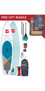 2019 Red Paddle Co Sport 11'0 Inflatable Stand Up Paddle Board Package + Free Gift Bundle