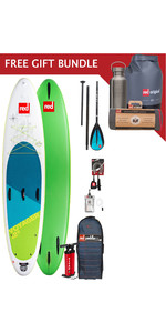 2019 Red Paddle Co Voyager 12'6 Inflatable Stand Up Paddle Board Package + Free Gift Bundle