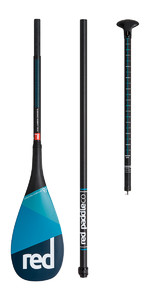 2018 Red Paddle Co Carbon 100 Vario Travel 3-Piece SUP Paddle 180CM-220CM