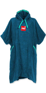 2021 Red Paddle Co Deluxe Towelling Change Robe Poncho - Navy