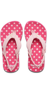 2019 Reef Junior Little Ahi Sandals / Flip Flops Polka Dot RF002199PKD1